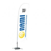 Feather Banner with QR code