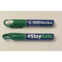10 ml. Clip on Pen Sanitizer Spray