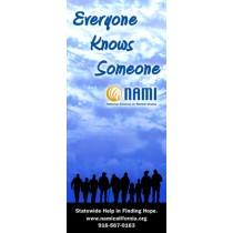 Everyone Knows Someone - Retractable Banner