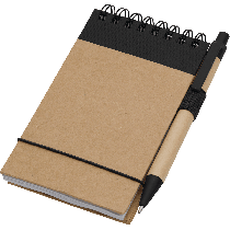 Pen & Recycled Notepad