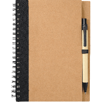 Spiral Notebook #5 with pen