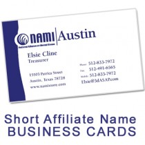 Business Card (Short Affiliate Name)