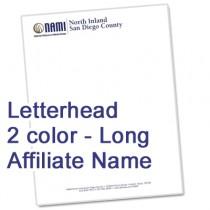 Letterhead  (Long Affiliate Name)